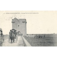 Fêtes d'Aigues Mortes - Passage du Fort de la Carbonniére