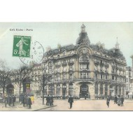 Paris - Café Riche - Editeur H.Rateau Paris
