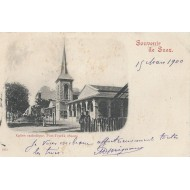 Souvenir de Suez Eglise Catholique.Port-Tewfik 1900