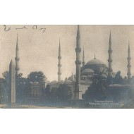 Constantinople - Mosquée Sultan Ahmed - Carte Photo