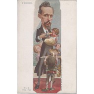 Caricature de Mr Gustave Mesureur 1900