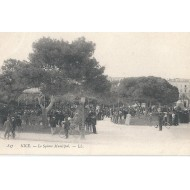 Nice - Le Square Municipal vers 1900