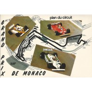 Plan du Circuit (Grand Prix de Monaco