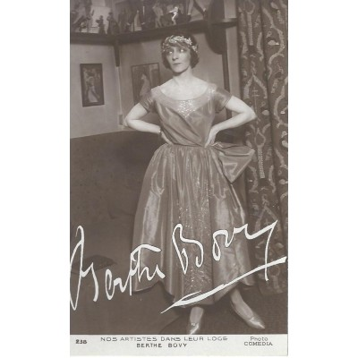 Berthe Bovy - Photo Comedia -