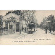 La station du tramway de Camp Major