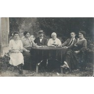 Famille Berthe Nice Carte Photo