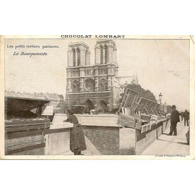 Les petits métiers parisiens Le Bouquiniste