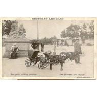 Les petits métiers parisiens Les Voitures de chévres