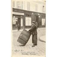 Les petits métiers parisiens Le Marchand de Tonneaux
