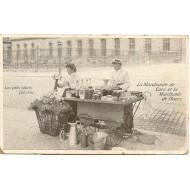 Les petits métiers parisiens La marchande de coco et la marchande de fleurs
