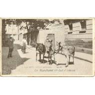 Les petits métiers parisiens - Le Marchand de Lait d'ânesse