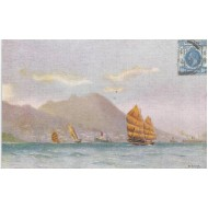 Chine - Hongkong - Carte postale ancienne